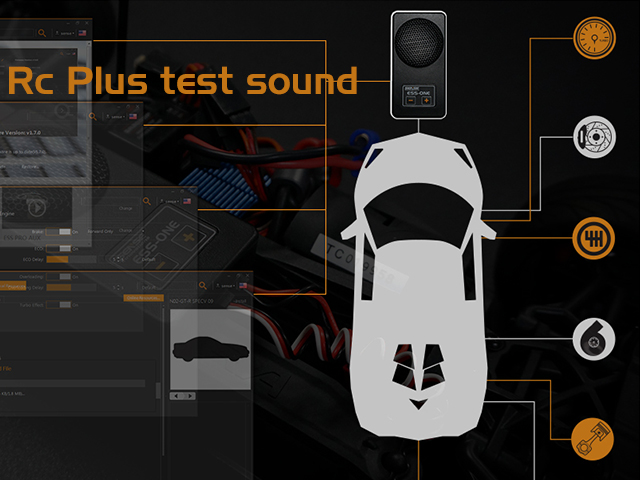 Sense Rc Plus test sound