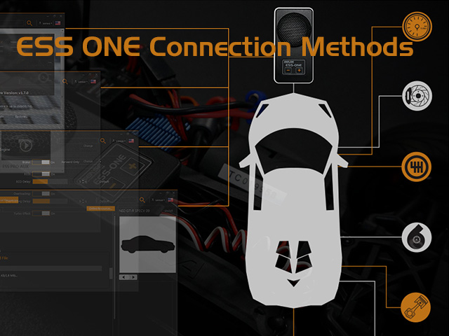 ESS ONE Connection Methods