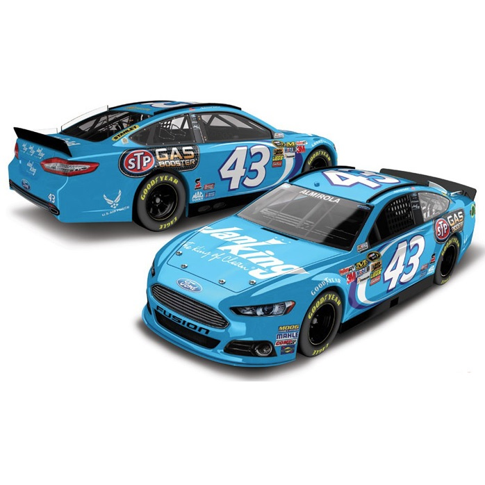 F01-Aric Almirola #43 FUSION Ford